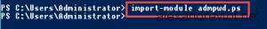 Import Module