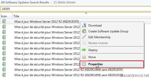 sccm 2012 software updates fail to