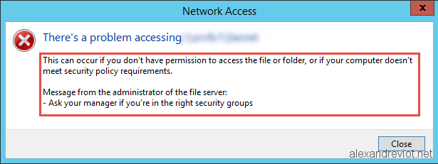 how to delete a folder when access is denied