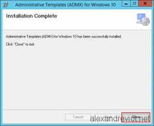 ADMX for Windows 10