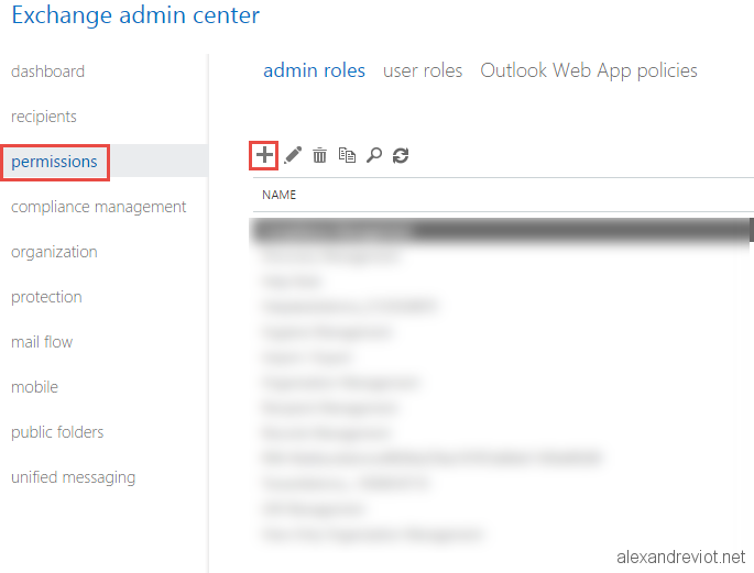 Office 365 - Import Export Role - Alexandre VIOT