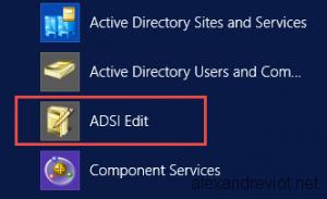 ADSI Edit