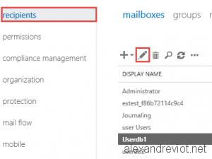 Edit Mailbox
